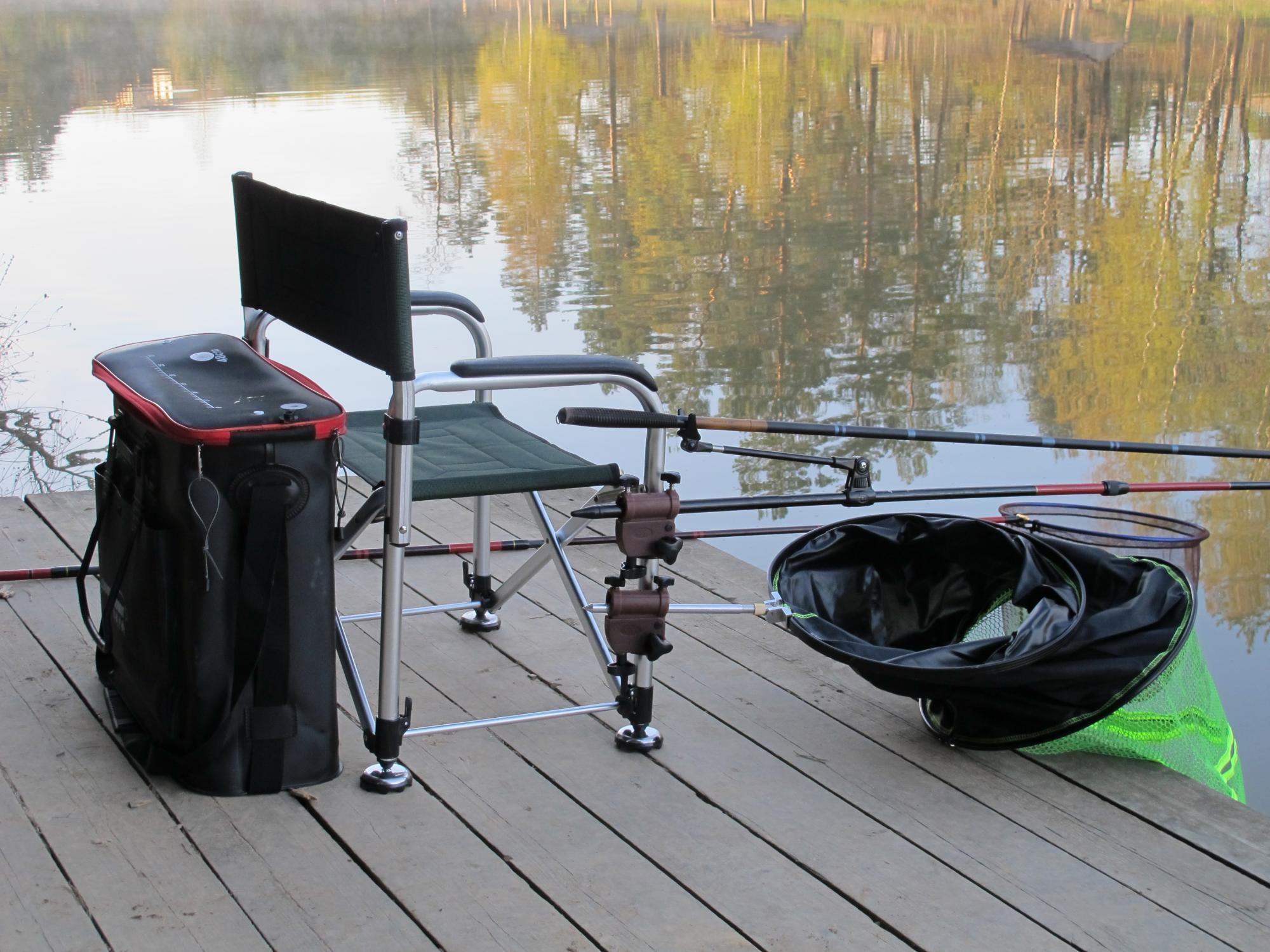 Виды рыболовных кресел